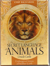 SECRET LANGUAGE  ANIMALS ORACLE Cards: Endangered Voices of Mother Earth Gift