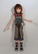 "2005 Talking Yumi 10"" Action Figure Doll Hi Hi Puffy Amiyumi Ami Yumi World Tour"