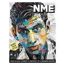 Alex Turner ARCTIC MONKEYS UK NME MAGAZINE APRIL 2016 - NEW