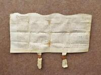 1611 Little Witcombe Gloucestershire 17th century Vellum Deed Document Indenture
