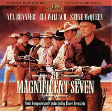 Elmer Bernstein – The Magnificent Seven (1998) Deluxe HDCD NEW Rykodisc sealed
