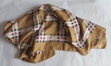Foulard style écossais – satine -