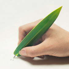 Unique&Thin Bamboo Shaped Bookmark Ball Point Pen 0.8mm Stationery School Office