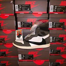 2019 Nike Air Jordan 1 Трэвис Скотт высокий кактус Джека CD4487 100 новый размер: 4-14