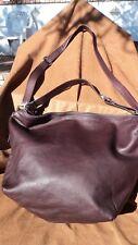 Osgoode Marley 7090 Raisin Cashmere Leather Cross Body Handbag