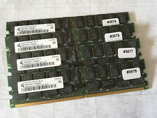 Server:4GB Qimonda DDR2 RAM PC5300P ECC /REGISTERED HYS72T512920EP-3S-C #3576-79