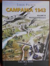 CAMPANIA 1943 Vol IV Provincia di BENEVENTO Simon Pocock Seconda Guerra Mondiale