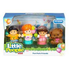 Fisher-Price Little People 4 x Fun Park amis neuf dans emballage d'origine