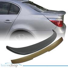 BMW E60 Sedan 4D A Type Window Roof Rear + A Trunk Boot Spoiler Wing 2010