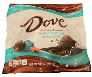 (PACK OF 3) Dove PROMISES, Sea Salt And Caramel Dark Chocolate Candy 7.61 Oz Bag