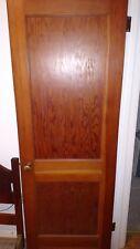 Antique Vintage 2 Panel Interior Door Not Painted 28 X 77 We Ship!