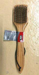 Weber Grillbürste mit Bambus-Holzgriff 30 cm - NEU