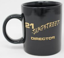 21 JUMP STREET TV Show Director Black Ceramic Coffee Cup / Mug, Vintage