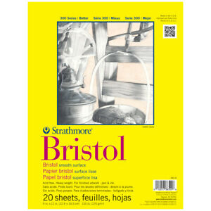 "Strathmore 300 Series Bristol Pad Smooth 11x14"""