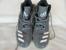 Addidas Dual Threat Basketball shoes Excellent grey and white size 7.5