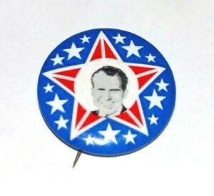 1968 RICHARD NIXON campaign pin pinback button political presidential election
