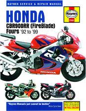 Haynes Manual 2161-Honda Cbr900rr Fireblade (92 - 99) workshop/service/repair