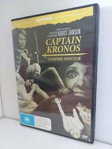 Captain Kronos Vampire Hunter Hammer Horror Region 4 DVD $0.01 Auction FREE POST