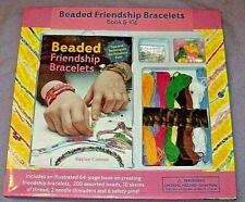 Beaded Friendship Bracelet Craft Book & Kit + BONUS Thread & Beads - MUD PUDDLE
