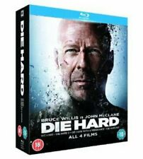Die Hard Quadrilogy Blu-ray DVD Region 2