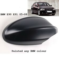 BMW 3 SERIES right side Wing Mirror Cover PAINTED ANY BMW Colour e90/91 05-08