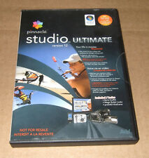 pinnacle studio ultimate 12 *NOT FOR RESALE* version Video Editing Software NEW