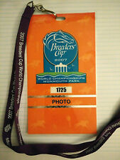 2007 Breeders' Cup World Championships Photo Pass. Monmouth Park. New Jersey.