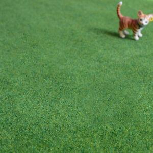 Dollhouse Miniature / Train / Garden Lawn Flooring - 18 x 15 cm Grass - AS REAL