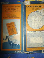 carte michelin 89 paris sud 1926