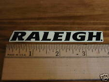 RALEIGH Mountain Road Tri Race Bike Frame Sticker Decal Black on Clear - $0 Ship