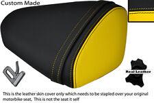 BLACK & YELLOW CUSTOM FITS KAWASAKI 08-10 ZX10 R NINJA 1000 REAR SEAT COVER