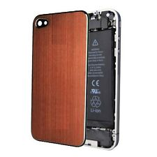 Orange Aluminium Back Screen Replacement Rear Case Cover Assembly for iPhone 4