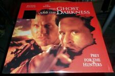 Laserdisc The GHOST and the DARKNESS M Douglas V Kilmer NEW and Sealed