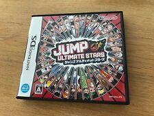 Jump Ultimate Stars Nintendo DS Version JP