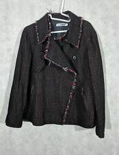 Jil Sander Mesh Tweed Punk Jacket Size 36