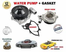 FOR PORSCHE 911 3.4 3.6 966 + BOXSTER 986 1996-> WATER PUMP + GASKET KIT
