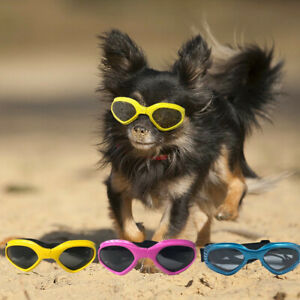 Pet Dog Sunglasses UV Protection Safety Googles for Small Medium Dog Eye Wear
