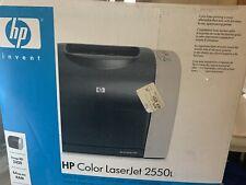 HP color LaserJet 2550L Standard Laser Printer.