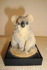 1993 Koala Bear Resin Figurine Earth Home Eh-800 United Design Corp in Usa