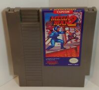 Nintendo Capcom NES *Mega Man 2* Original game cartridge Untested