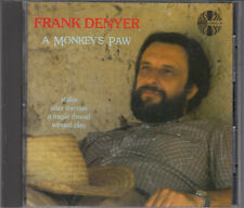 Frank Denyer : A Monkey's Paw CD Classical Contemporary FASTPOST
