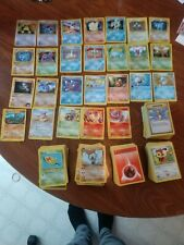 500+ Vintage Pokemon Card Lot w/holo rares and a card sleeve book