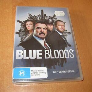 BLUE BLOODS - SEASON 4 ( DVD , Region 4 ) NEW & SEALED !