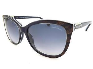 Roberto Cavalli Womens Sunglasses Jabbah Dark Blue / Grey Gradient RC872 92B