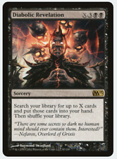 MTG X4: Diabolic Revelation, Magic 2013, R, NM-Mint - FREE US SHIPPING!