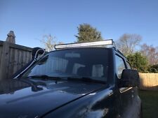 "42"" LED Light Bar mounting brackets Suzuki Jimny 99 - 19 mounts  Roof Off Road"