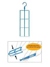 Hydration Bladder Dryer Expander Hanger for 2 or 3 Litre Cleaner Drying Kit