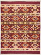 Limited Time Promotional Laz Traditional Kilim High Quality Red / Beige Rug