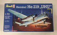 1/72 Revell Heinkel HE 219 UHU 4127 From Revell Germany