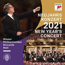CONCERTO DI CAPODANNO 2021 VIENNA - RICCARDO MUTI - 2CD NUOVO SIGILLATO 2021